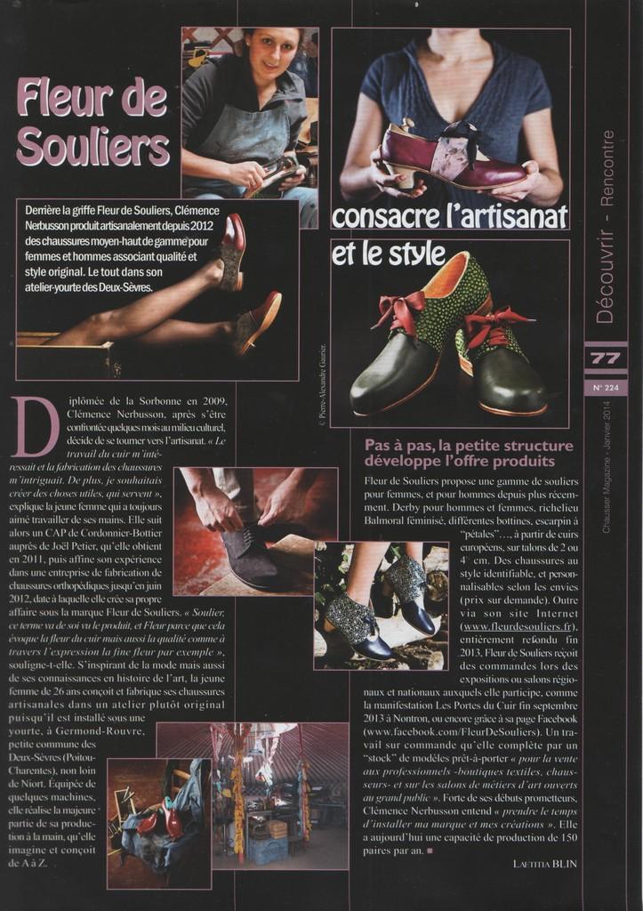 chausser magazine janvier 2014