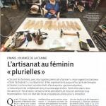 """Dossier """"l'artisanat au féminin"""" - p1"""